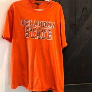 Oklahoma State thick short sleeve tee shirt